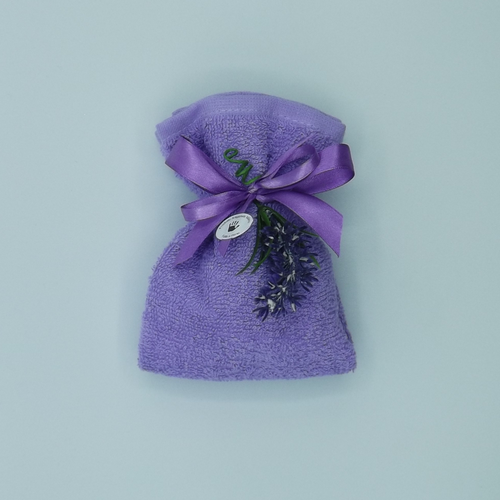 sacchetto lavette lavanda