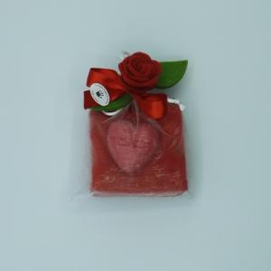 sacchetto toule lavette sapone cuore