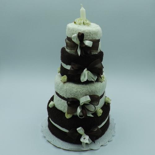 torta bicolor 4 piani
