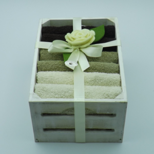 cassetta abete bianca 6 lavette