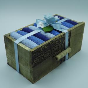 cassetto legno 9 lavette