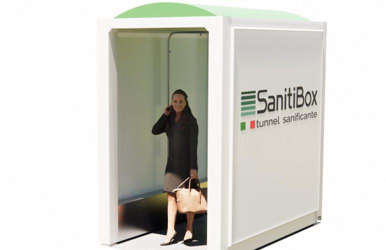 Sanitibox, Box per la Sanificazione Istantanea