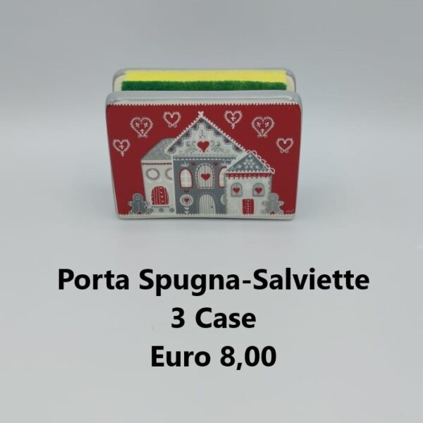 porta spugna 3 case