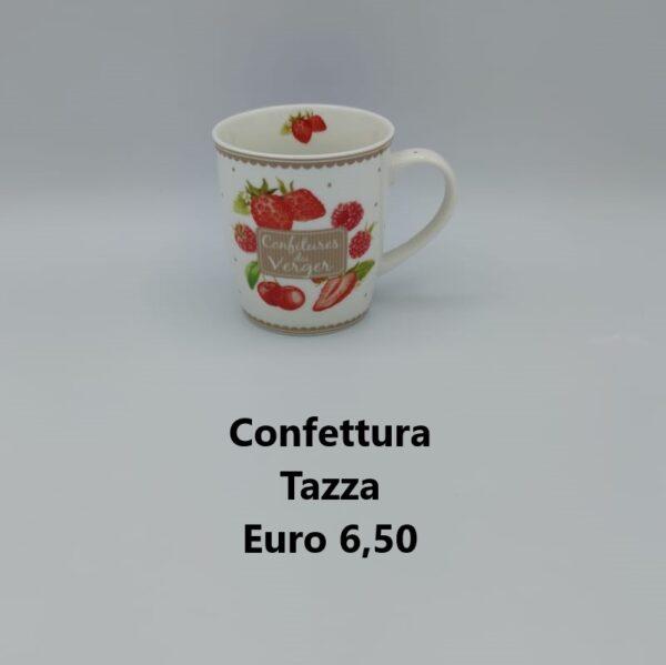 tazza confettura