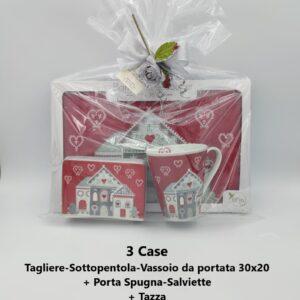 confezione regalo 3 case