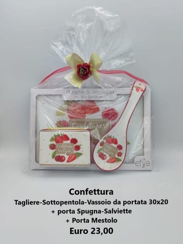 confezione regalo confettura 3