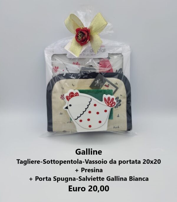 confezione regalo galline 8