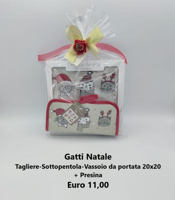 confezione regalo gatti natale 2
