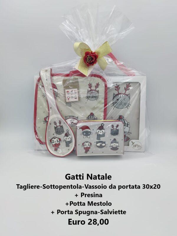 confezione regalo gatti natale 3