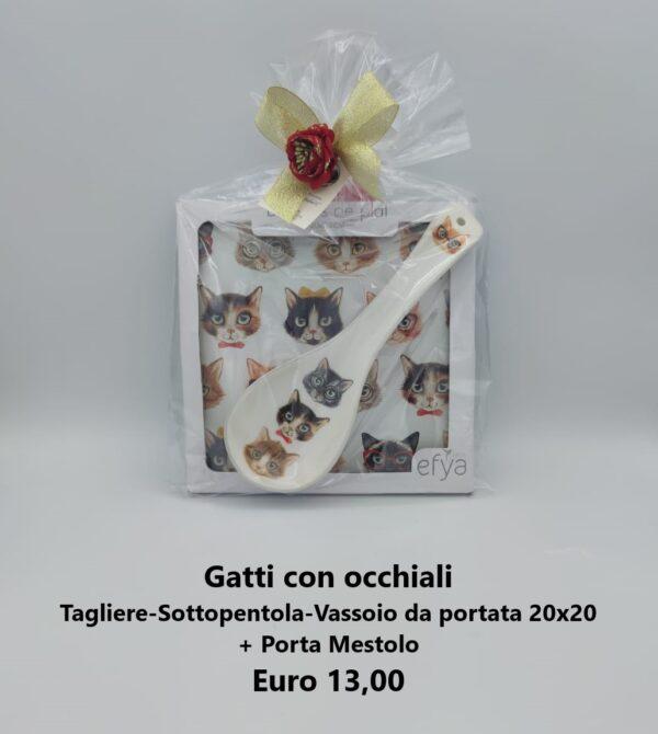 confezione regalo gatti con occhiali 1
