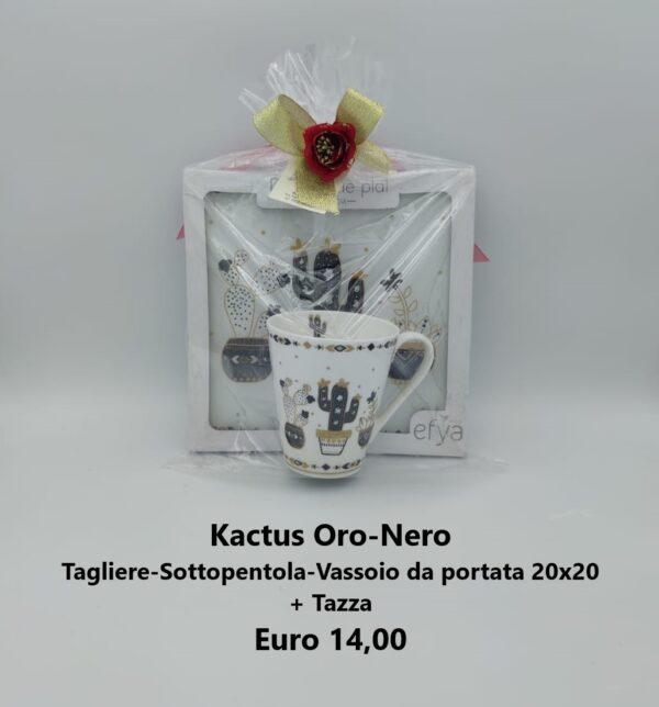 confezione regalo cactus
