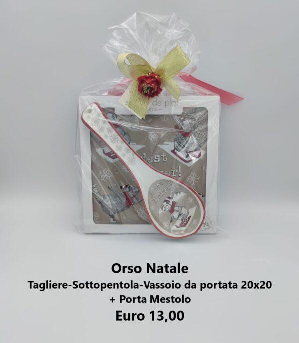 confezione regalo orso natale 3