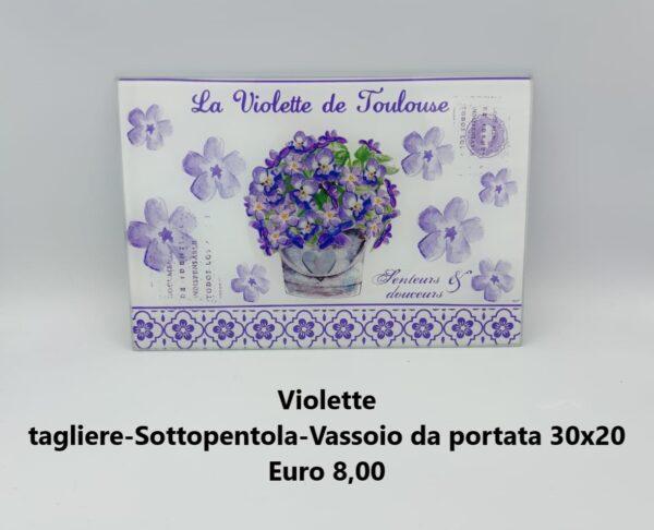 tagliere 30x20 violette