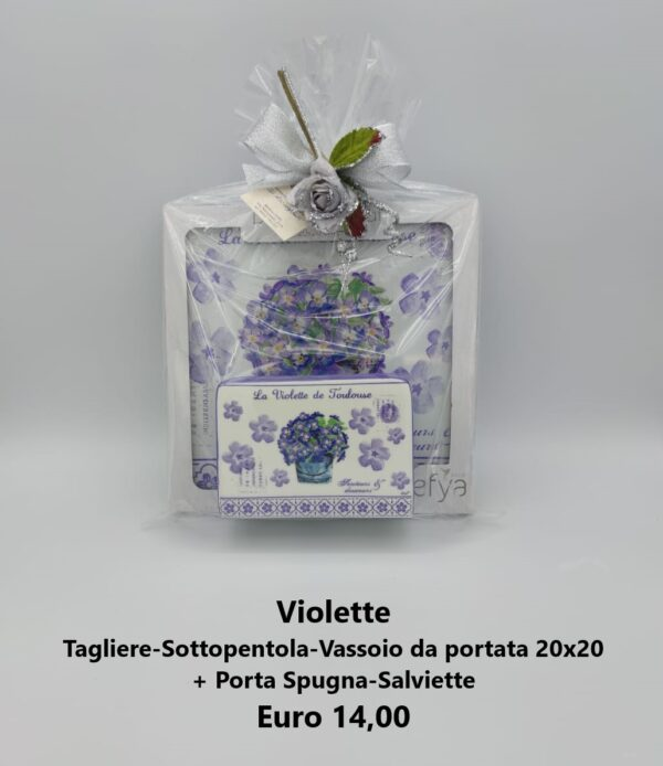 confezione regalo violette 2